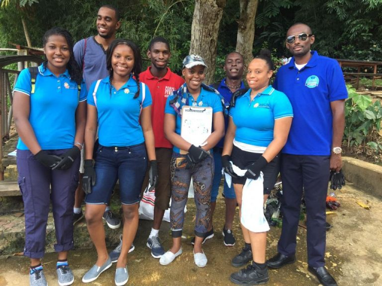 Junior Executives Clean Up Campaign